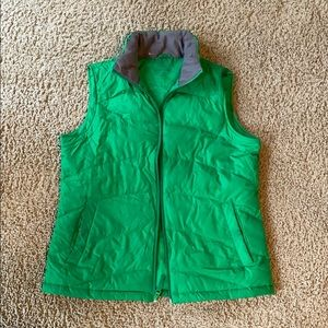 LANDS END green vest!